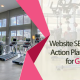 I will create an exclusive SEO audit report with a long term action plan for your gym site to help you execute on your own