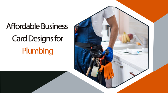 I will create 4 different business card design for your Plumbing