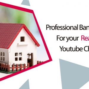 I will design a perfect Youtube banner for your Real Estate Youtube channel
