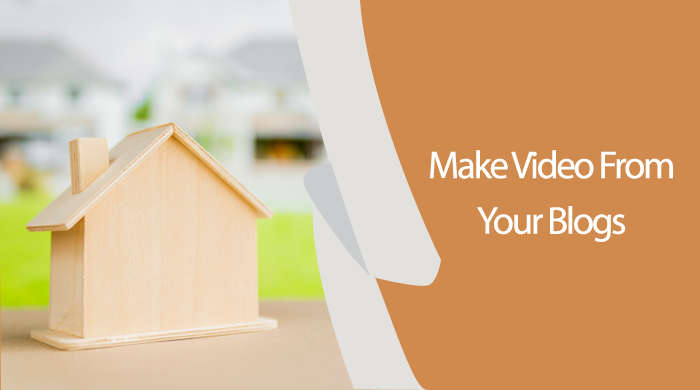 Real Estate video based on your articles copy