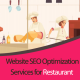 I will do onetime onsite / Onpage SEO work for your newly launched restaurant WordPress website or your restaurant blog