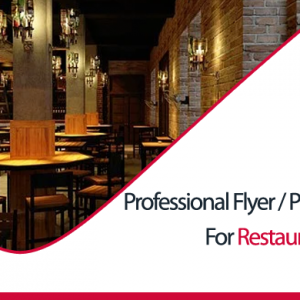 I will design outstanding flyer or poster for your restaurant with unlimited revisions